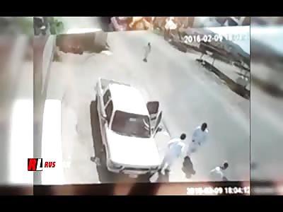 Crazy Arab Drift Ends Up Killing Pedestrians