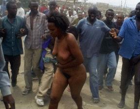 Brutal African Mob Gang Rape