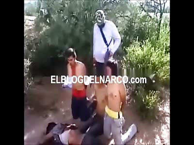 Speaking of El Chapo: Here's a New Cartel Beheading.. Gulf Cartel Beheading Zeta's