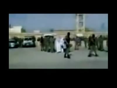 Follow the Rolling Head Accused Murderer is Beheaded in Saudi Arabis
