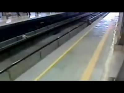 SHOCK Video: Man Kills Himself in Grand Fashion in Brutal Death by Train (NEW VIDEOS BELOW)