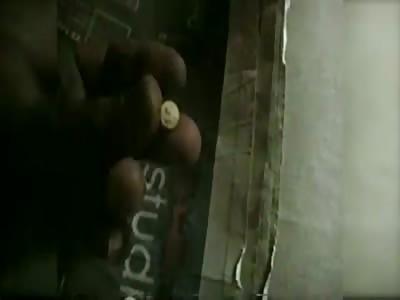 New Orleans Inmates Drink Beer, Shoot up, Gamble, Brandish Gun -- Inside Prison Cell! (FULL VIDEO)
