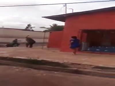 MAN'S HAND SEVERED IN MACHETE FIGHT