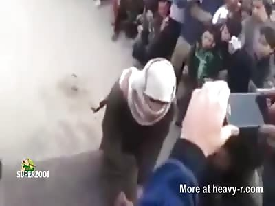 Hand Cut Off With Machete